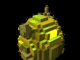 Golden Twin Plague Dragon Egg