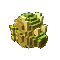 Golden Sandseasower Dragon Egg