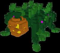 Pumpkin Spider Model