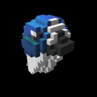 Blue Budgie Buddy