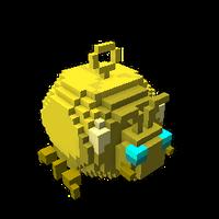 Bounding Golden Beetle