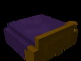 Plum Bed Foot