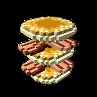 Sky-High Pancake Stack