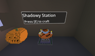 Shadowy station