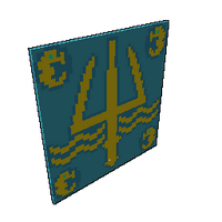 Golden Trident Sail