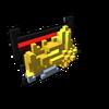 Badge Golden Hoard Dragon silver