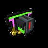 Badge Neon Dragon gold