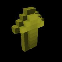 Yellow Arrow - Up