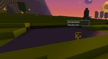 Empty Cornerstone
