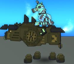 Steam-Powered Bronze Bovine