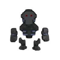 Cyberian Android alpha ingame