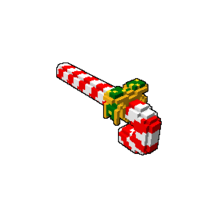 Careening Candy Cane
