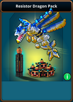 Ui store resistor dragon pack