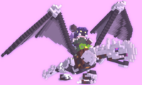 Blacksilver dragon In-Game