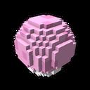 Interactive ball golf pink