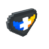 Badge Vanguardian obsidian