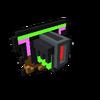 Badge Neon Dragon bronze