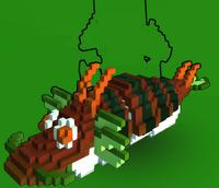 Mount Delicious Dragon Roll