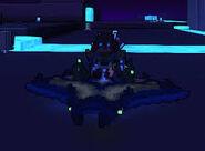 Blue manta ray