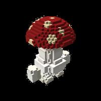 Mushroom Man Model