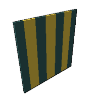 Green and Gold Sail