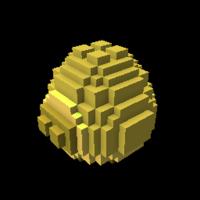 Golden Block Dragon Egg