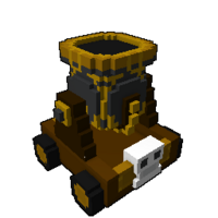 Pirate Captain cannon