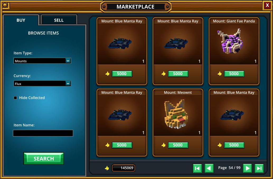 Player Marketplace | Trove Wiki | FANDOM powered by Wikia