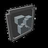 Badge Blocks Destroyed silver