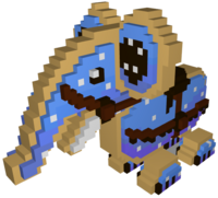 Blue Cookiephant Model