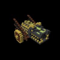 Pirate Cannon Model