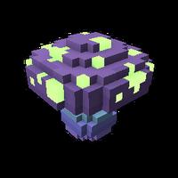 Dark Mushroom Spore Model
