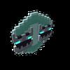 Badge Shadow Hydrakken Hard diamond