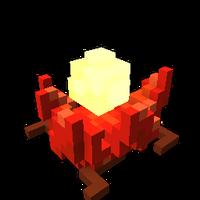Fireheart Flower cavedeco