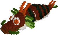 Delicious Dragon Roll Model