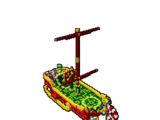 Bedecked Iceboat