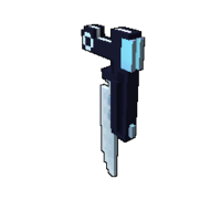 Moon Pistol Model