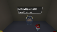 Turkeytopia table