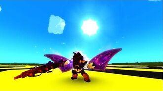 Trove - Inferno Infiltrator Neon Ninja Costume