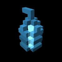 Crystal Ripple Laser