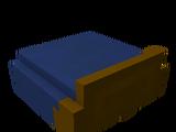 Navy Bed Foot