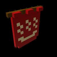 Red Bath Sign