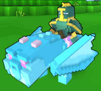 Snowcone Dragon In-Game