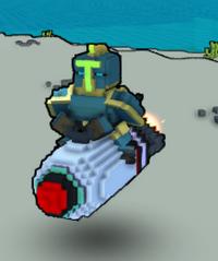 F4-S.T. Prototype Rocket Ingame