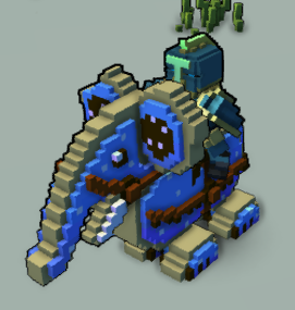 Blue Cookiephant Ingame