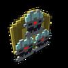 Badge Darknik Dreadnought Ultra gold