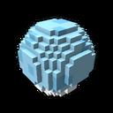 Interactive ball golf blue