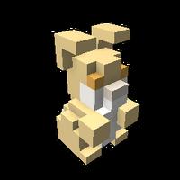 Peach Bunny