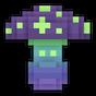 Spawn Dark Mushroom Spore