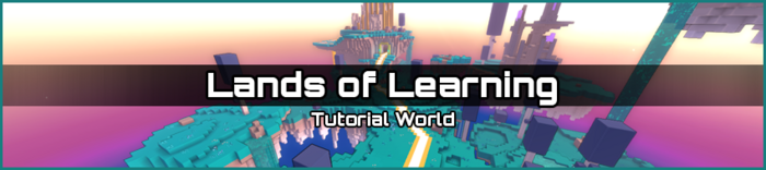 Lands of Learning biome banner